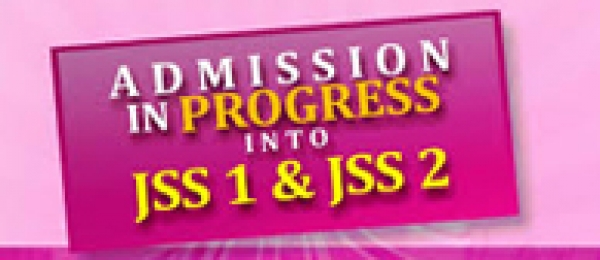 Admission into JSS1 & 2